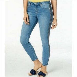 Maison Jules NWT Racer Stripe Skinny Fit Jeans